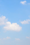 Clouds in the blue sky. Use as background Stock Photos