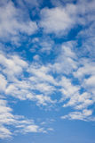 Clouds on the blue sky Stock Images