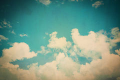 Clouds and blue sky Stock Photography