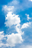 Clouds in the blue sky. White clouds in the blue sky Royalty Free Stock Images