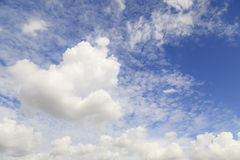 Clouds in blue sky Royalty Free Stock Photo
