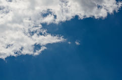 Clouds and blue sky. Stock Images