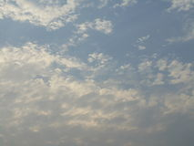Clouds. Blue sky with white clouds Stock Photography