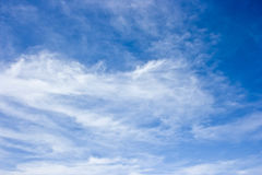 Clouds. Blue sky with white clouds Stock Image