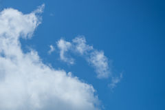Clouds on Blue Sky. The White Clouds on Blue Sky Stock Photography