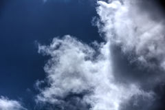 Clouds. Blue sky. Royalty Free Stock Photos