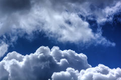 Clouds. Blue sky. Royalty Free Stock Image