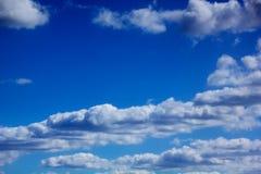 Clouds. Blue sky. Stock Image