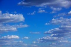 Clouds. Blue sky. Stock Photos