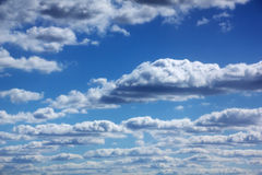 Clouds. Blue sky. Stock Photography