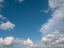 Clouds in the bright day Stock Photo