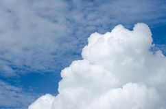 Clouds with bright sky Can be edited or added to your work. For background stock image
