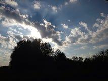 Clouds. Canada scenery landscape clouds sky stock photo