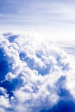 Clouds cape Blue sky and white cloud. Sunny day Royalty Free Stock Photo