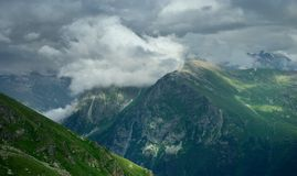 Clouds in Caucasus Royalty Free Stock Photo