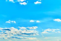 Clouds on the blue sky royalty free stock images