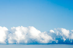 Clouds and clear sky Royalty Free Stock Photo