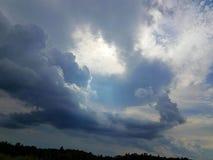 Turbulent sky Stock Photography