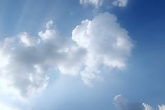 Clouds  in cloudscape Royalty Free Stock Images