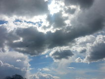 Clouds. Cloudy nice day Royalty Free Stock Photos
