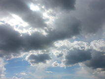 Clouds. Cloudy nice day Royalty Free Stock Photo