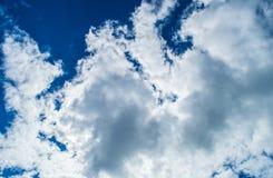 Clouds. Cloudy sky stock photos