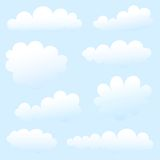 Clouds collection Stock Photography