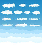 Clouds Collection Stock Image