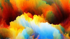 Clouds of Colors Stock Photography