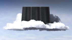Clouds Computing Royalty Free Stock Images