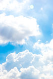 Clouds cotton heavy Royalty Free Stock Images