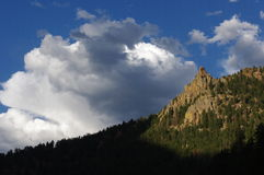 Clouds and Crags Stock Photo