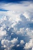 clouds cumulusen royaltyfri foto
