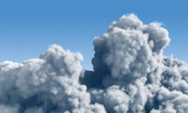 clouds cumulusen Royaltyfria Foton