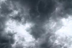 clouds dark Fotografering för Bildbyråer