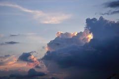 clouds dark Royaltyfria Foton