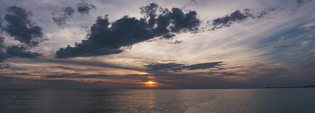 Clouds, Dark, Dawn Stock Photography