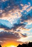 clouds den härliga bluen för bakgrund skyen clouds skyen Royaltyfria Foton