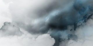 clouds den mörka dramatiska stormen royaltyfri illustrationer