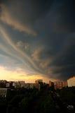 clouds den mörka dramatiska stormen Royaltyfri Fotografi