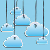 Clouds design Royalty Free Stock Image