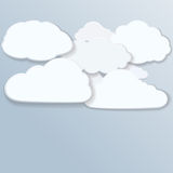 Clouds. Stock Photos
