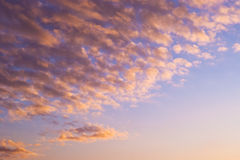 clouds drömlikt royaltyfria bilder