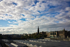 Clouds over City Stock Images