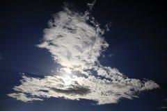clouds dramatiskt arkivfoto