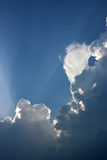 clouds dramatiskt Arkivfoton