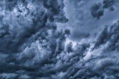 clouds dramatiskt royaltyfri bild