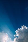 clouds dramatiskt Royaltyfri Foto