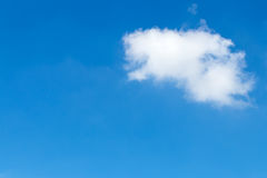Clouds drift alone. Royalty Free Stock Images