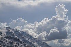 Clouds drift Stock Photos